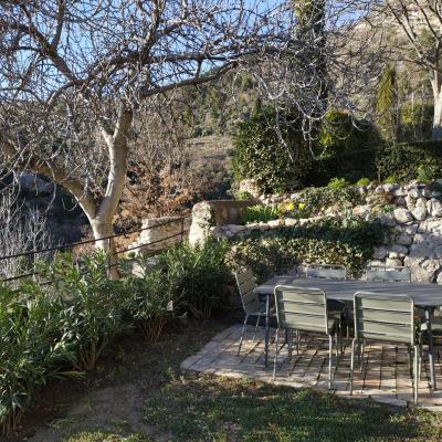 Jardin en Février