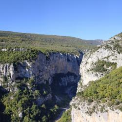 Gorges du Verdon, Octobre