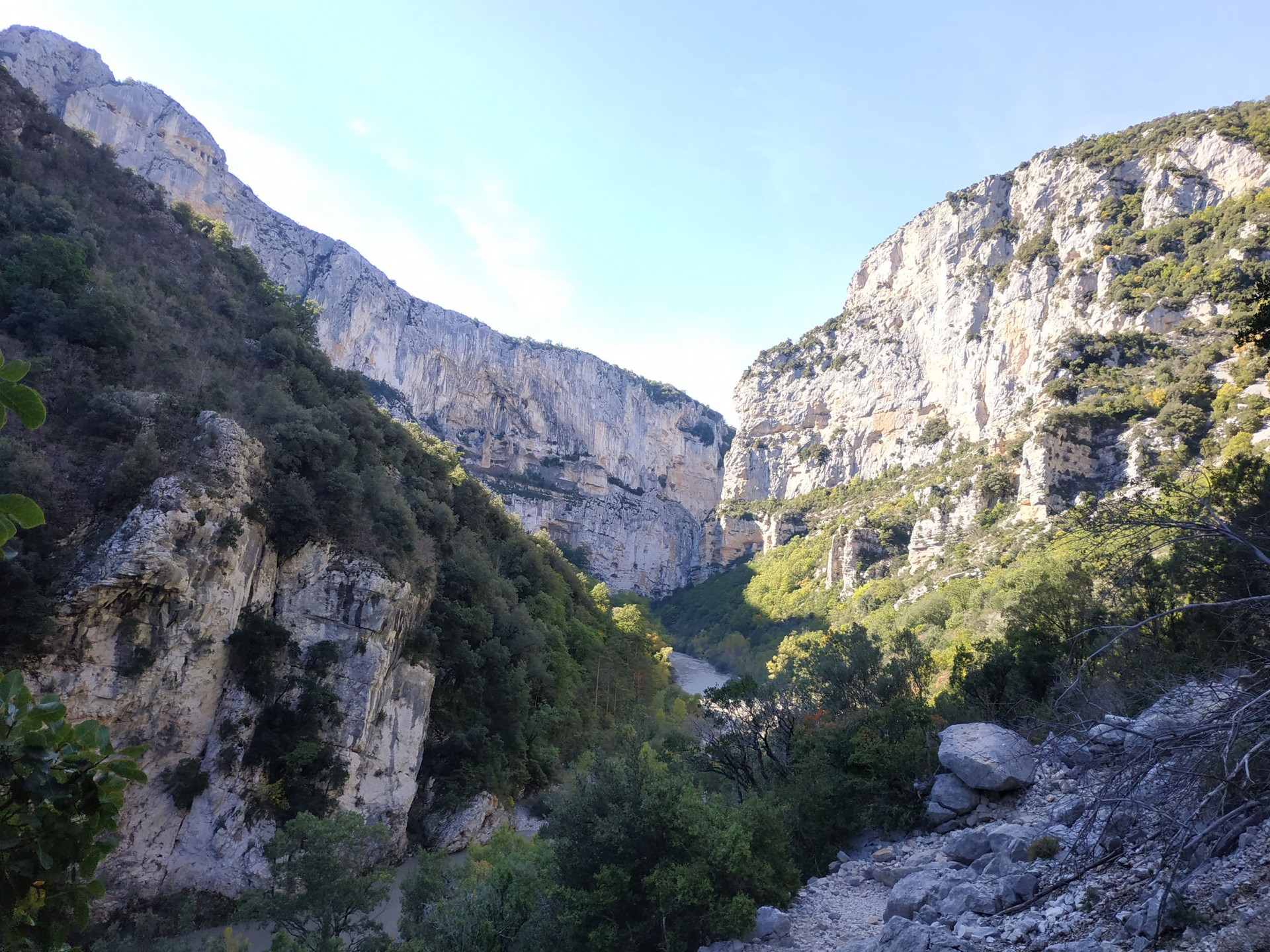 Gorges du Verdon, Octobre